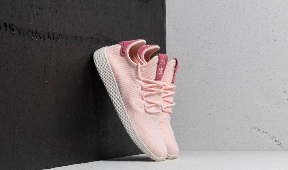 adidas x Pharrell Williams Tennis HU W Icey Pink  Icey Pink  Chalk White  EUR 39 1 3 značky adidas Originals - Lovely.sk ed3a8268388