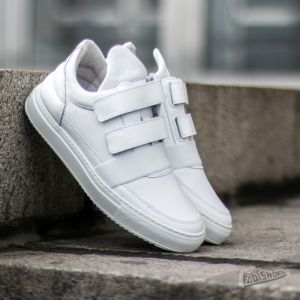 Filling Pieces Low Top Double Strap All White US 7