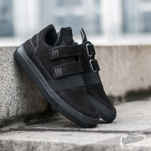 Filling Pieces Low Top Double Strap All Black  US 7