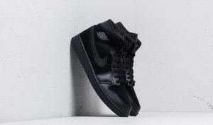 Air Jordan 1 Mid Black/ Dark Grey-Black EUR 41