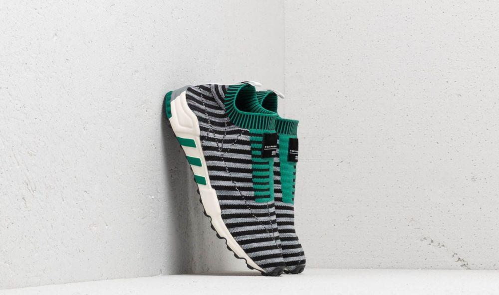 adidas EQT Support SK Primeknit Core Black  Grey One  Sub Green EUR 38  značky adidas Originals - Lovely.sk 0dfd190f258