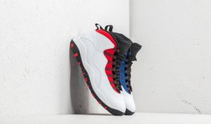 Air Jordan 10 Retro White/ Black-University Red EUR 40