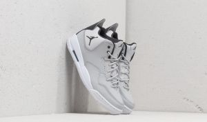 Jordan Courtside 23 Grey Fog/ Dk Smoke Grey-White EUR 40
