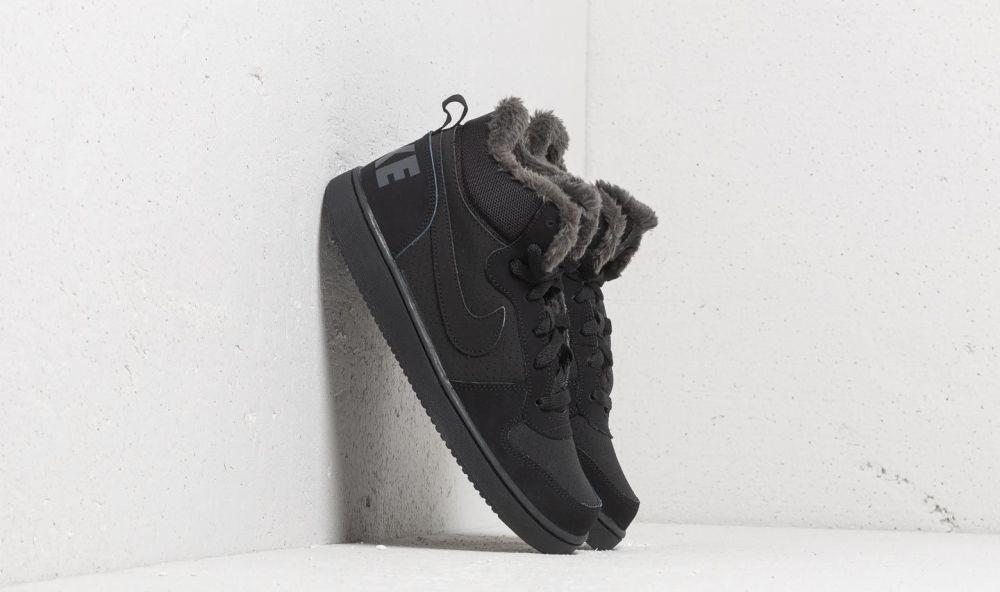 5a0b8ae00 Nike Court Borough Mid Winter (GS) Black/ Black-Anthracite EUR 37.5 značky  Nike - Lovely.sk
