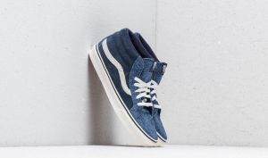 Vans SK8-Mid Reissue (Hairy Suede Mix) Dress Blue/ Snow White EUR 41
