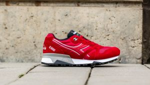 Diadora N9000 NYL II Chili Pepper/ Nine Iron EUR 41