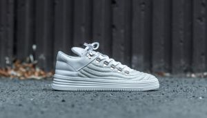 Filling Pieces Mountain Cut Quilted Hairy White US 8