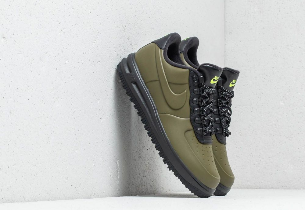 Nike Lunar Force 1 Duckboot Low Olive Canvas  Olive Canvas 9 značky Nike -  Lovely.sk a6cee51c39c