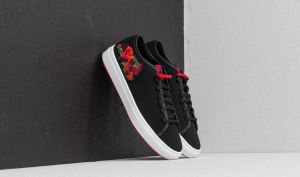 le coq sportif Jane Embroidery Black/ Tango Red