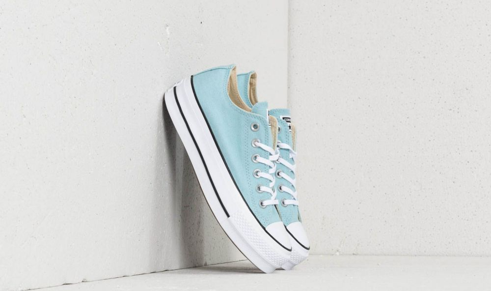 Converse Chuck Taylor All Star Lift Ox Ocean Bliss/ White/ Black