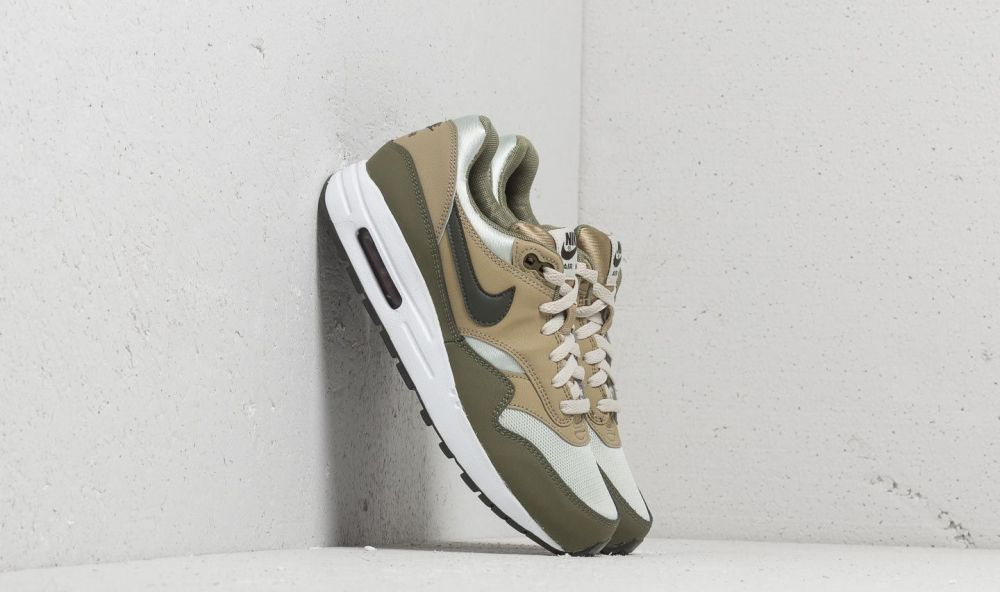 size 40 672e7 b416b Nike Air Max 1 (GS) Medium Olive  Sequoia