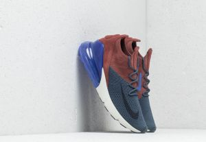 Nike Air Max 270 Flyknit Thunder Blue/ Grid Iron