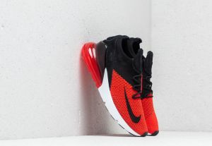 Nike Air Max 270 Flyknit Chile Red/ Black-Challenge Red