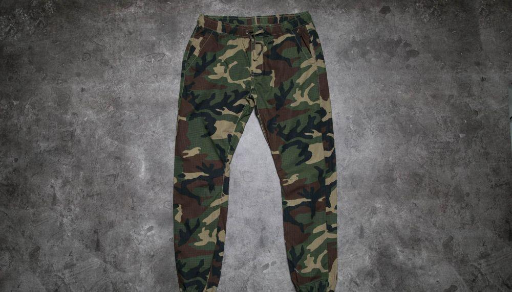 36ce85b74592 Urban Classics Camo Ripstop Jogging Pants Wood Camo značky Urban ...