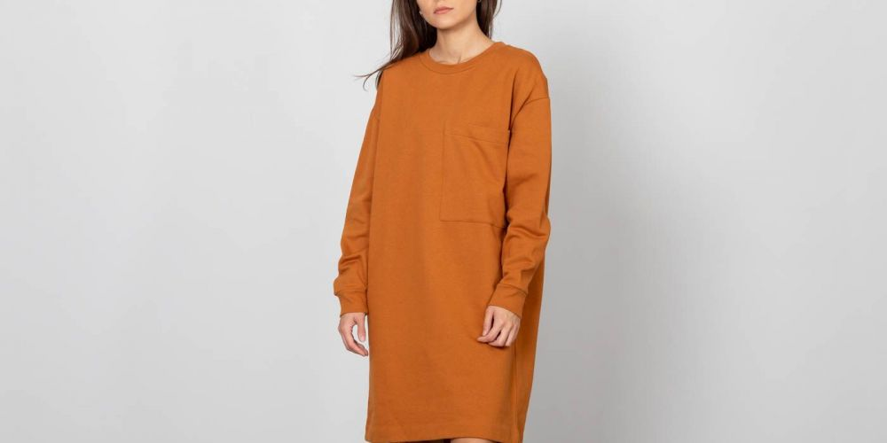 SELECTED Alexandra Sweat Dress Glazed Ginger značky Selected - Lovely.sk 80c44417e9