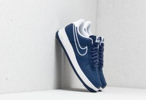 Nike Air Force 1 '07 Leather Blue Void/ White