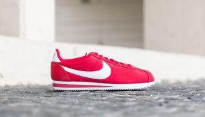 Nike Classic Cortez Nylon Gym Red/ White EUR 45.5
