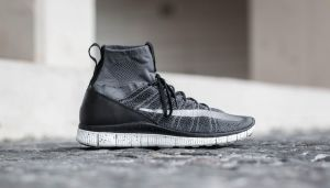 Nike Free Flyknit Mercurial Dark Grey/ Silver-Black-Summit White EUR 45.5