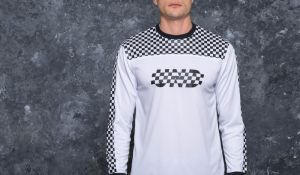 Undefeated Finish Line Longsleeve Jersey White