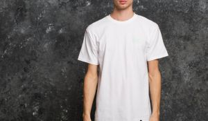 HUF Apparel Puff Bar Logo Tee White