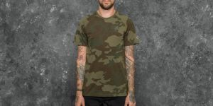 New Era NTC Raglan Oakland Raiders Tee Green Camo