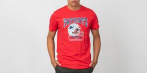 New Era Shortsleeve Archie Tee New England Patriots Red