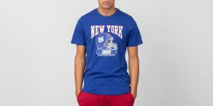 New Era Shortsleeve Archie Tee New York Giants Blue