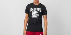 New Era Shortsleeve Archie Tee Oakland Riders Black