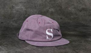 24de3d1a7c7 Stüssy S Logo Pigment Strapback Cap Red