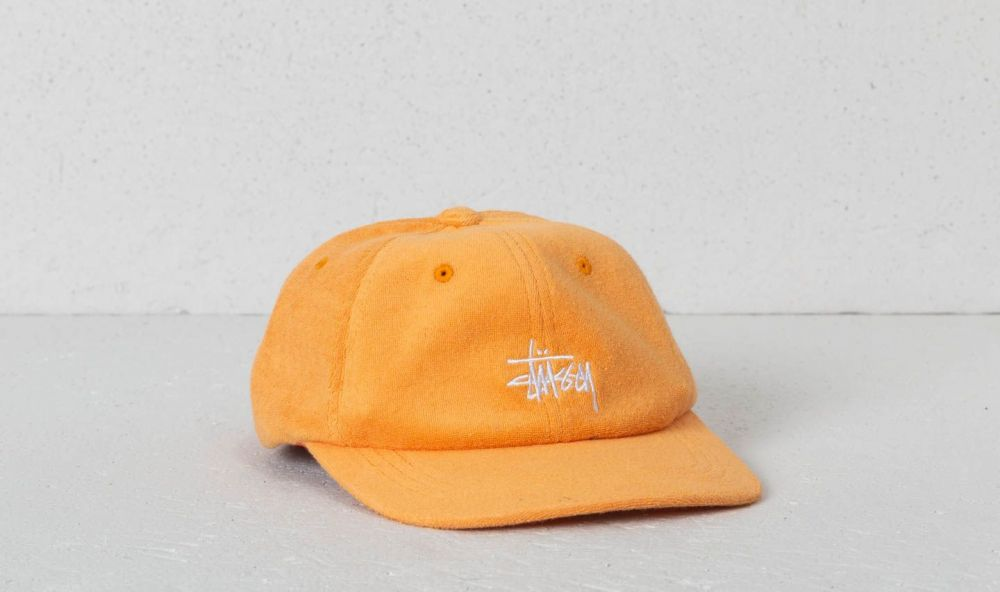 b7f693a6b02 Stüssy Stock Terry Cloth Low Pro Cap Orange značky Stüssy - Lovely.sk