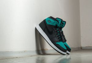 Air Jordan 1 Retro High (GG) Black/ Metallic Gold-Rio Teal EUR 40