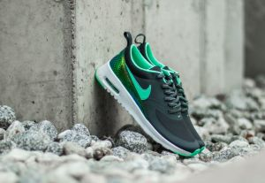 Nike Air Max Thea SE (GS) Anthracite/ Green Glow EUR 38