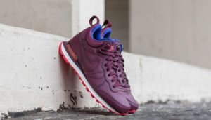 Nike W Internationalist Mid Leather Night Maroon/ Night Maroon-Ember EUR 36
