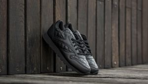 Reebok Classic Leather Quilted Black/ White EUR 43