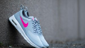 Nike Air Max Thea (GS) Wolf Grey/ Hyper Pink-Cool Grey EUR 37.5