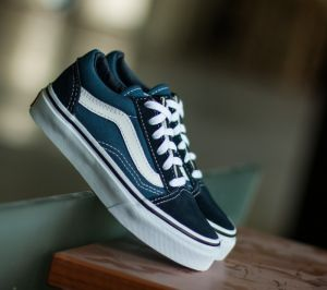 Vans Kids Old Skool Navy/ True White   EUR 32