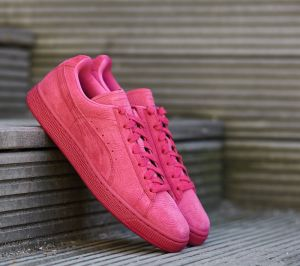 Puma Suede Classic + Colored Wn's Rose Red-Rose Red EUR 35