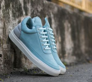 Filling Pieces Low Top Two Tones Blue  US 9.5