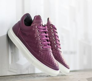 Filling Pieces Low Top Stripe Quilted Purple US 6
