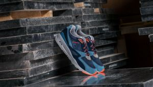 Le Coq Sportif R 800 90´S Outdoor Dress Blue/ Tigerl 11.5