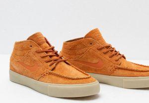 best sneakers fd298 4c648 Nike SB Zoom Janoski Mid Rm Crafted Cinder Orange  Cinder Orange-Team Gold  galéria