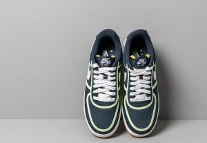 best sneakers 5efb7 245da Nike Air Force 1  07 Premium Armory Navy  White-Barely Volt galéria