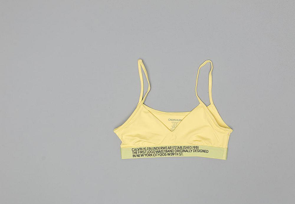 9ecb5edf8cd Calvin Klein Unlined Bralette Yellow značky Calvin Klein - Lovely.sk