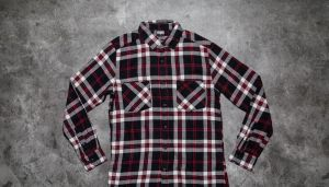 Urban Classics Checked Flanell Shirt 3 Black/ White/ Red S