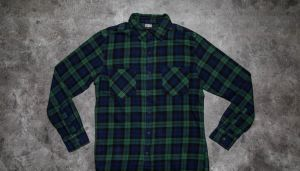 Urban Classics Checked Flanell Shirt 3 Forest/ Navy/ Black S