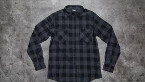 Urban Classics Checked Flanell Shirt Black/ Charcoal S
