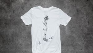 Dedicated Skate Otter T-Shirt White S