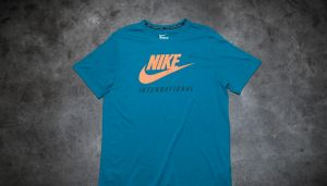 Nike International Tee Green Abyss/ Sunset S