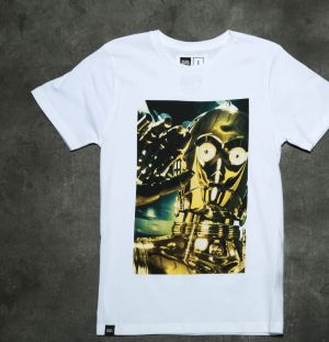Dedicated x Star Wars C3PO White S