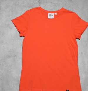 Cheap Monday Cap Roll Tee Coral XL